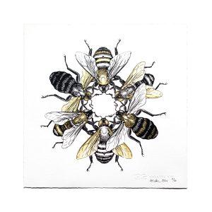 ARLETTE-ESS-sixbees-artprint-frame