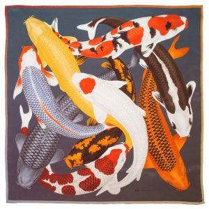 arlette-ess-koi-2-print-silk-scarf