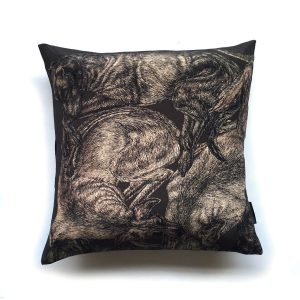 sleeping dogs cushion