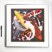 ARLETTE-ESS-koi-2-color-artprint-framed2