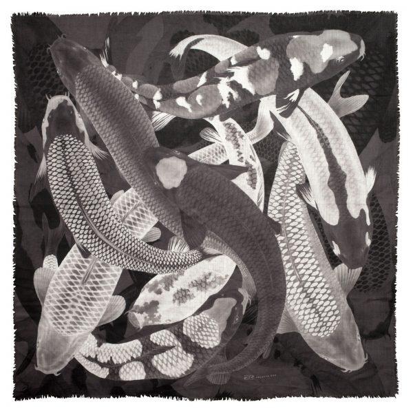 arlette-ess-koi-print-fish-scarf-wool