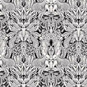 ARLETTE ESS-erotic wallpaper damask blackandwhite