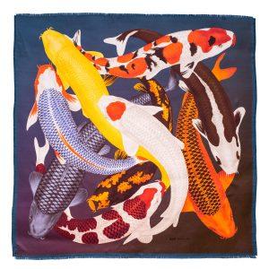 Koi II scarf