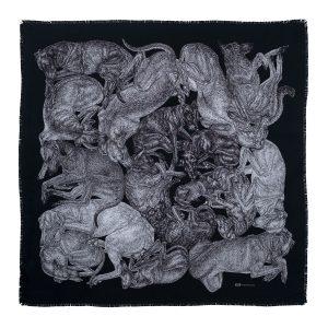 sleeping dogs scarf image