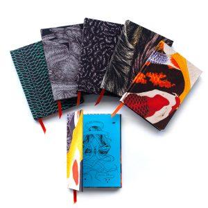 silk bound notebooks